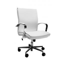 Radna Fotelja niska - Nero M lux (prava koža) - izbor boje kože