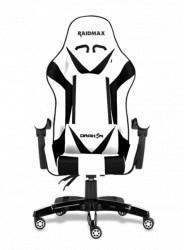 Raidmax Drakon DK602 gejmerska stolica bela ( 028-0050 )