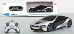 Rastar RC automobil BMW i8 1:24 - siv, bel ( 6211180 )
