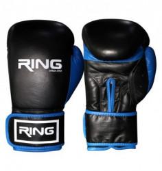 Ring rukavice za boks 10 OZ kozne - RS 3211-10 blue