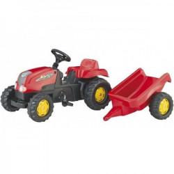 Rolly Toys Traktor kid-X sa prikolicom crveni ( 012121 )