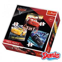 Slagalica 3 u 1, Cars ( 12-348200 )