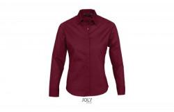 SOL'S eden ženska košulja sa dugim rukavima bordo XL ( 317.015.24.XL )