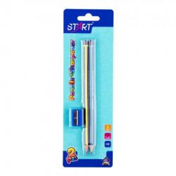 Start olovke grafitne neo 2kom i zarezaČ na blisteru start ( STR6097 )