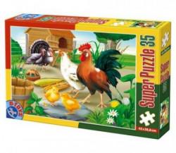 Super Puzzle 35PCS ANIMALS 01 ( 07/60198-01 )
