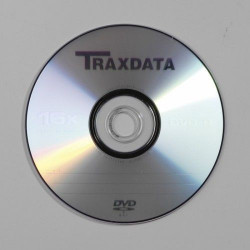 Traxdata DVD-R 16x 4.7 GB cake 10 komada srebrni ( 0232492 )