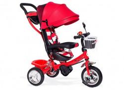 Tricikl Guralica Playtime AM 406 - Crveni + Mekano sedište