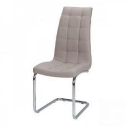Trpezarijska stolica DC865 Noge hrom/ Cappuccino 590x430x1040 mm ( 779-058 )