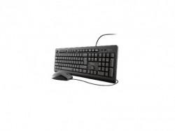 Trust tastatura i miš Primo US, crni ( 23970 )