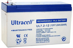 UltraCell Battery 12V / 7.2Ah UPS ( UL7.2-12 )