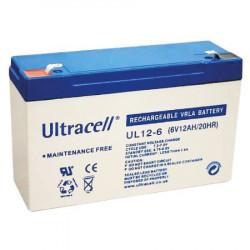 Žele akumulator Ultracell 12 Ah ( 6V/12-Ultracell )