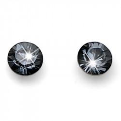 Ženske Oliver Weber Fine Cut Silver Night mindjuše sa swarovski crnim kristalom