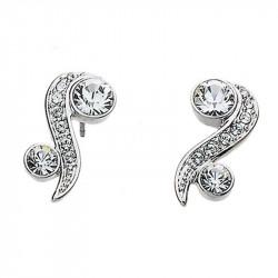 Ženske Oliver Weber Precious Crystal mindjuše sa swarovski belim kristalom