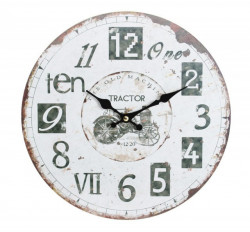 Zidni sat Crno-Beli 29cm ( 203295 )
