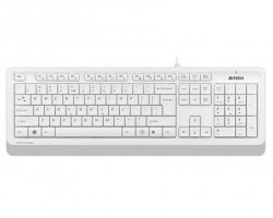 A4 Tech FK10 FSTYLER USB US bela tastatura