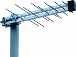Antena M2000 Midi RF konektor spoljna 20-30db TV loga, 44cm, UHF/VHF/DVB-T2 FO