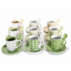 Art from Italy f71.28.32 šoljica za kafu sa kašičicom porcelan