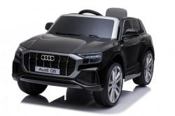 Audi Q8 Licencirani Džip sa kožnim sedištem i mekim gumama - Crni