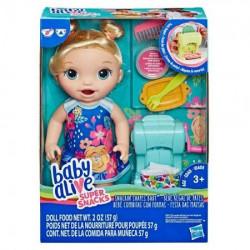Baby alive lili i magicne nudle set ( E3694 )