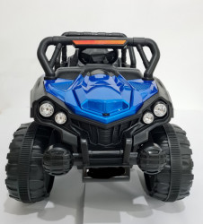 BAGI Exclusive - Auto na akumulator za decu sa funkcijom ljuljanja - Plavi