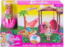 Barbie travel - set chelsea na plazi ( MAFWV24 )