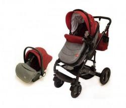 BBO Kolica za bebe matrix - 3u1 crvena ( CR0006 )