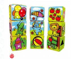 Biba Toys plišane kocke ( A014064 )