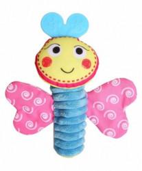 Biba Toys zvečka - šareni leptirić ( A016990 )
