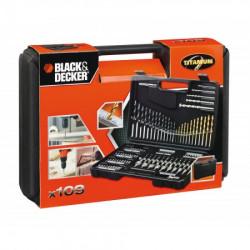Black+Decker garntirura odvijača biceva 109 delova - kutija ( A7200 )
