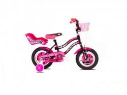 "BMX bicikl 12"" crno-pink"
