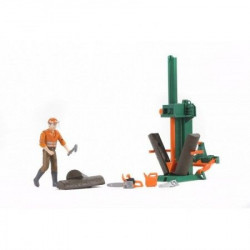 Bruder Oprema za sečenje drva sa figurom ( 626501 )