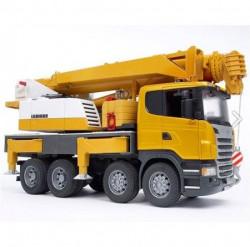 Bruder Scania LIEBHERR kran 2m ( 035709 )