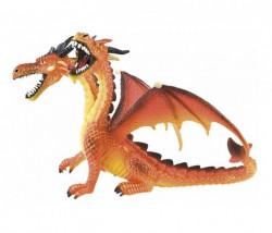 Bullyland narandžasti dvoglavi zmaj (fantasy, magican svet) ( 75598 e )