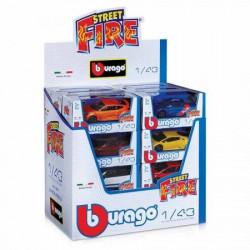 Burago street fire asst 1/43 ( BU30010 )