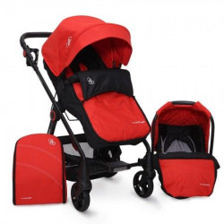 Cangaroo Kolica za bebe Hammer 2u1 set red ( CAN3662RS )