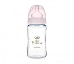 Canpol baby flasica 240ml siroki vrat, pp - royal baby 35/234 pink ( 35/234_pin )
