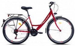 "Capriolo bicikl metropolis lady 26""/18ht crveno-belo 19"" ( 914403-19 )"