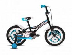 """Capriolo mustang bicikl 16"""" crno-plavo-beli Ht ( 917113-16 )"""