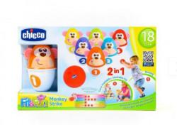 Chicco igračka set za kuglanje-Majmunčići ( A011949 )
