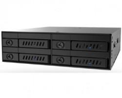 """Chieftec CMR-425 4 x 2.5"""" SATA crna fioka za hard disk"""