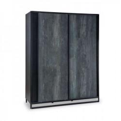Cilek dark metal ormar sa kliznim vratima ( 20.52.1003.00 )