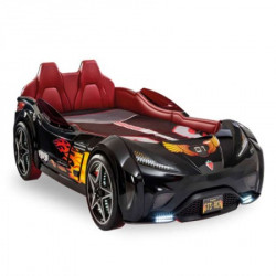 Cilek Gts auto krevet crni (99x191 cm) ( 20.02.1352.00 )