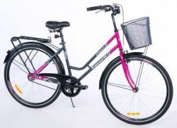 "CITY Bicikla Classic 28"" siva/ciklama ( 460096 )"