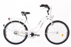 "CITY Bicikla Cruiser 26"" bela ( 460157 )"