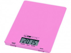 Clatronic Kuhinjska vaga KW3626 pink 5kg, LCD display
