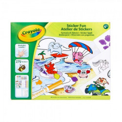 Crayola crayola sticker fun set ( GA256278 )