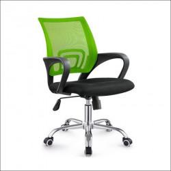Daktilo stolica C-804D Zelena ledja/crno sedište ( 755-510 )