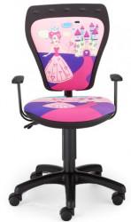 Dečija daktilo stolica Ministyle NS ministyle TS22 GTP28-BL Princess