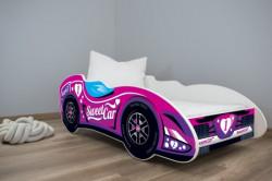 Dečiji krevet 140x70cm (formula1 ) SWEET CAR ( 7555 )