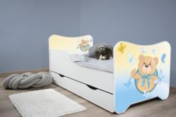Dečiji krevet 160x80 cm happy kitty+fioka SMALL TEDDY ( 7449 )